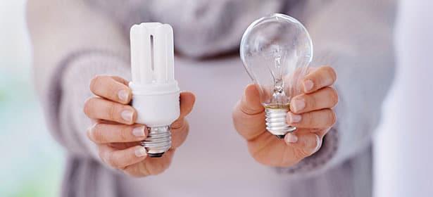 بعد از خرید کلید لمسی از لامپ استاندارد استفاده کنید