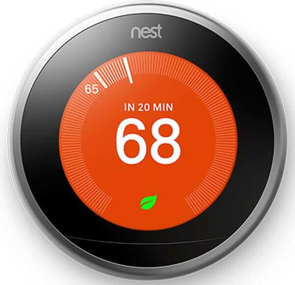 تجهیزات خانه هوشمند 2019 - ترموستات Nest